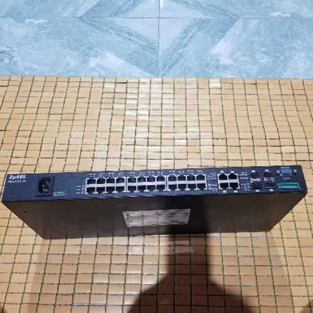 Bộ chia cổng LAN 24 cổng ZyXEL MES3500-24 Giá chỉ 800.000₫
