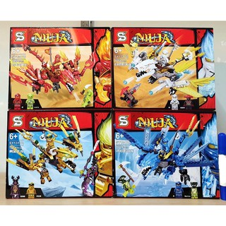 Lego Ninja go Cuỡi rồng 2019 New SY1317 cực Vip