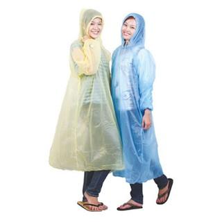 [SIÊU TIỆN LỢI] Lốc 10 áo mưa nilong dùng 1 lần đủ màu thumbnail