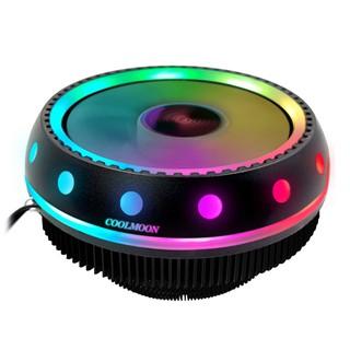 [Rẻ nhất SHOPEE] Quạt Tản Nhiệt CPU Coolmoon UFOX Led RGB - SIÊU ĐẸP thumbnail