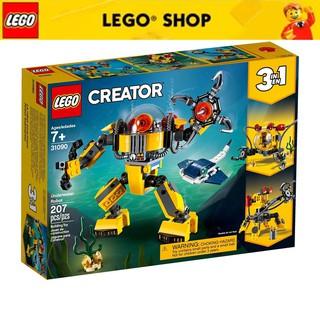 [Mã TOYLEGO1 giảm 10% đơn 200K] LEGO CREATOR Rô Bốt Thám Hiểm Biển Sâu 31090