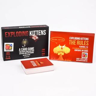 Exploding Kittens – Mèo Nổ tiếng anh phiên bản 18+