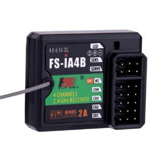 1buycart 2.4G 4Channels Receiver Support Data Backhaul for FS i4 i6 i10 iT4S Transmitter RC Car Boat – intl