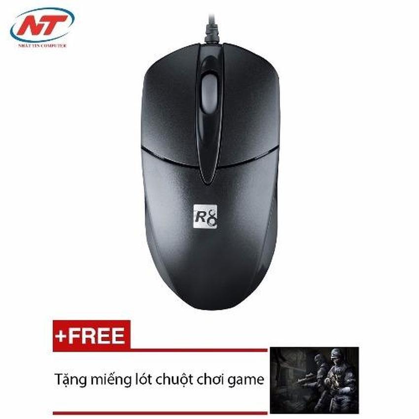 Chuột máy tính có dây R8 1606 + Tặng 1 miếng lót chuột - 2507657 , 106543492 , 322_106543492 , 105000 , Chuot-may-tinh-co-day-R8-1606-Tang-1-mieng-lot-chuot-322_106543492 , shopee.vn , Chuột máy tính có dây R8 1606 + Tặng 1 miếng lót chuột