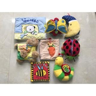 Sách Vải đồ chơi cho bé