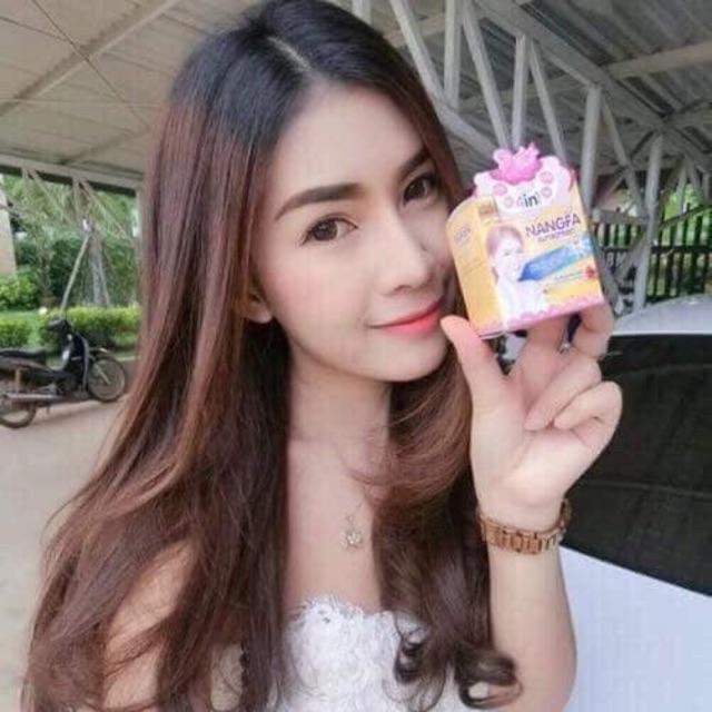 KEM PHẤN MAKE UP NANGFA 4IN1 Thái
