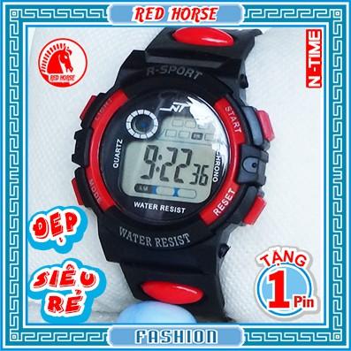 Đồng hồ trẻ em bé trai NT-88-2.(Đỏ)