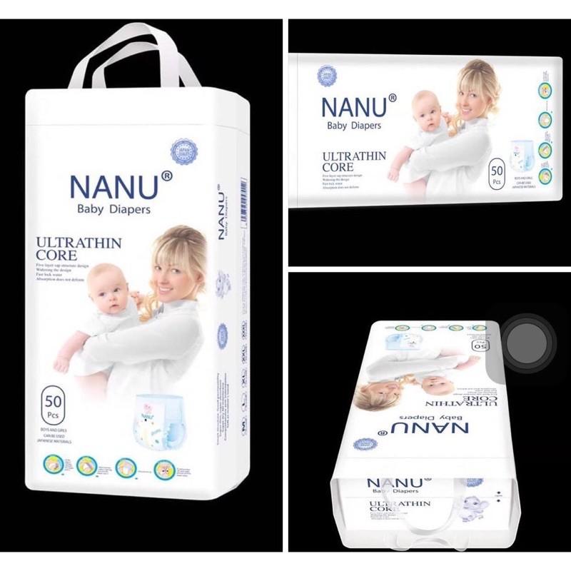 Tã quần NANU baby size M50/L50/XL50/XXL50