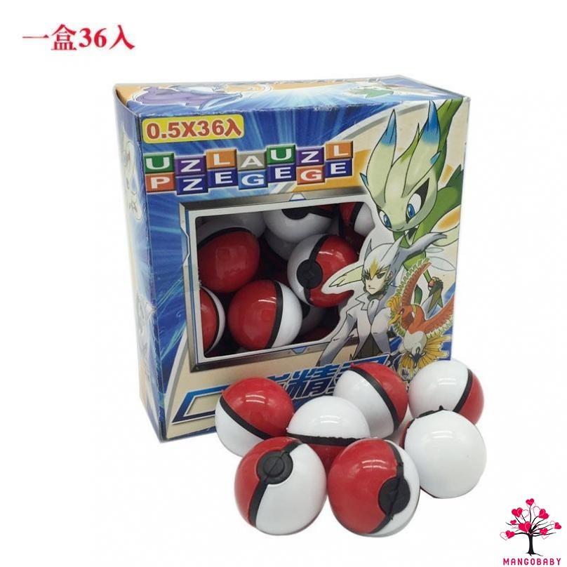 Set 36 Quả Bóng Pokemon Và Nam Châm