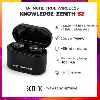Tai Nghe Bluetooth Knowledge Zenith KZ S2- Hàng Chính Hãng thumbnail