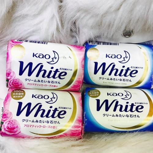 Xà Phòng Tắm Kao White 130g Nhật Bản