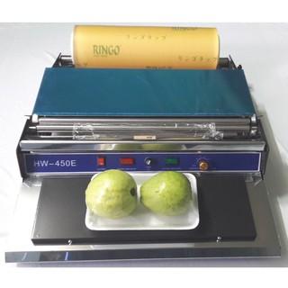[ XẢ KHO GIÁ HỦY DIỆT ] Máy bọc màng thực phẩm HW-450 | Máy bọc màng thực phẩm