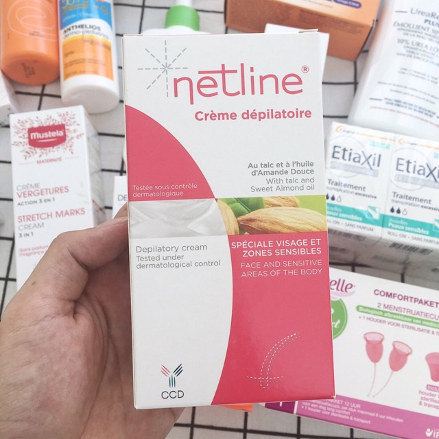Kem Tẩy Lông Netline Creme Depilatoire 75Ml