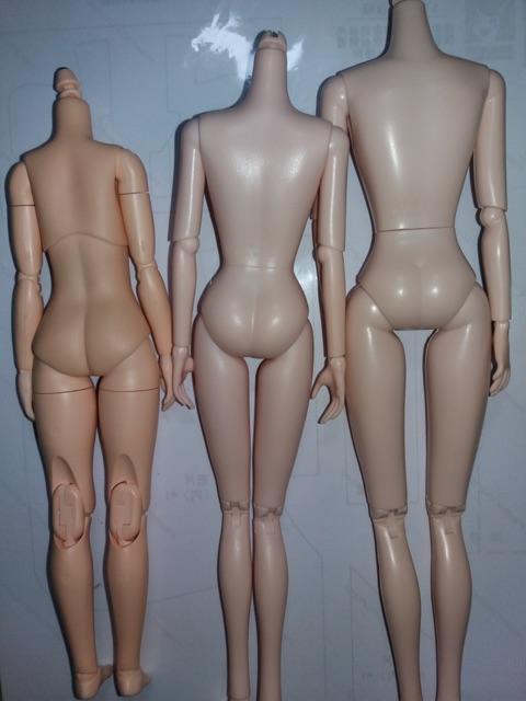 Thân / body búp bê XinYi TH2 ngực khủng (đã qua sư dụng)