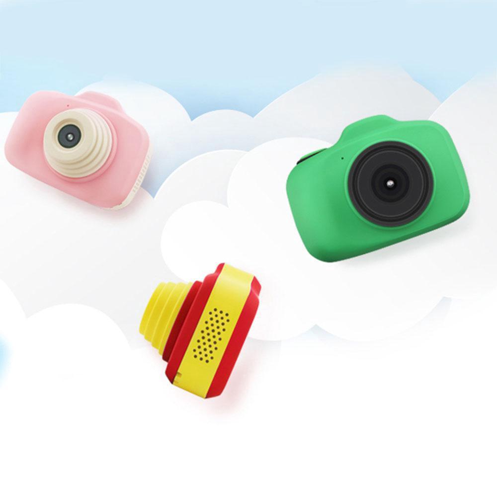 มินิน่ารักกล้องดิจิตอลของเล่นชุดสำหรับเด็ก 1080P กันน้ำกันกระแทกเด็กกล้องสำหรับการเดินทางเล่นกลางแจ้ง