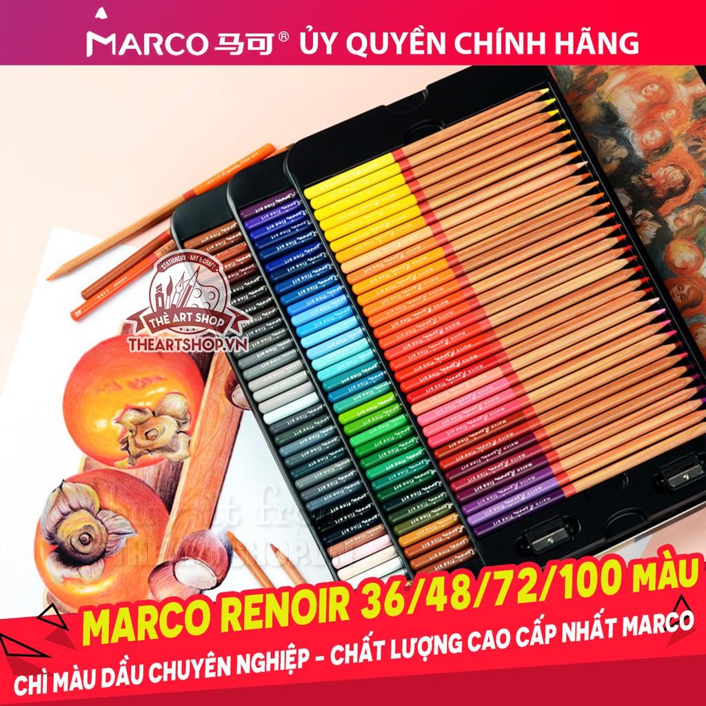 Chì màu dầu Marco Renoir 36/48/72/100 màu cao cấp nhất hãng MARCO 3100 - 3161220 , 889799146 , 322_889799146 , 390000 , Chi-mau-dau-Marco-Renoir-36-48-72-100-mau-cao-cap-nhat-hang-MARCO-3100-322_889799146 , shopee.vn , Chì màu dầu Marco Renoir 36/48/72/100 màu cao cấp nhất hãng MARCO 3100