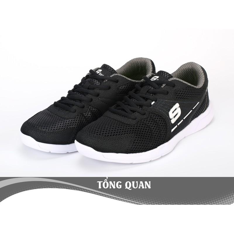 Giày Thể Thao Nam Thời Trang D2552 - Màu Đen