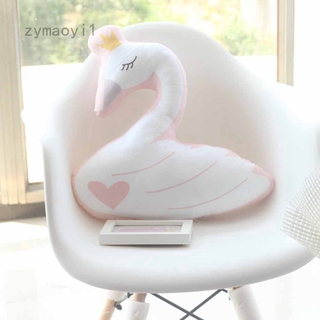 Zymaoyi1 45cm Swan pillow beautiful plush toy gifts for girls Stuffed Toys