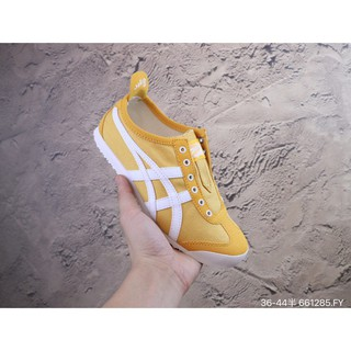 Original Asics Mexico 66 Paraty Men Women Sneakers Walking Casual shoes yellow