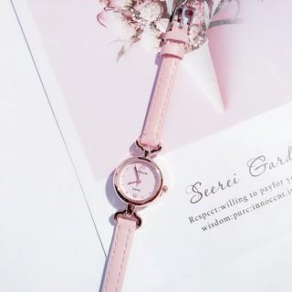 Đồng hồ nữ Dotime đeo thay thời trang CanDyCat dây da đẹp ZO36