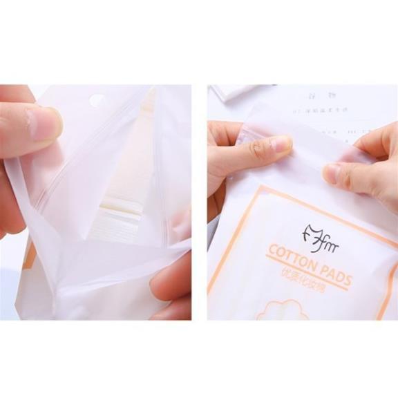 Bông tẩy trang cotton pads 222 miếng hàng 3 lớp siêu mềm an toàn cho mọi loại da được bán chạy nhất hiện nay - CTP