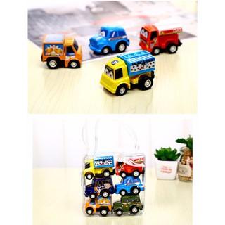 Bộ 6 ô tô đồ chơi mini chạy dây cót