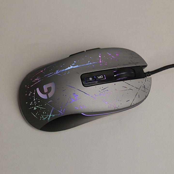 Chuột có dây game Fuhlen F200 RGB - 1 đổi 1 trong vòng 2 năm.