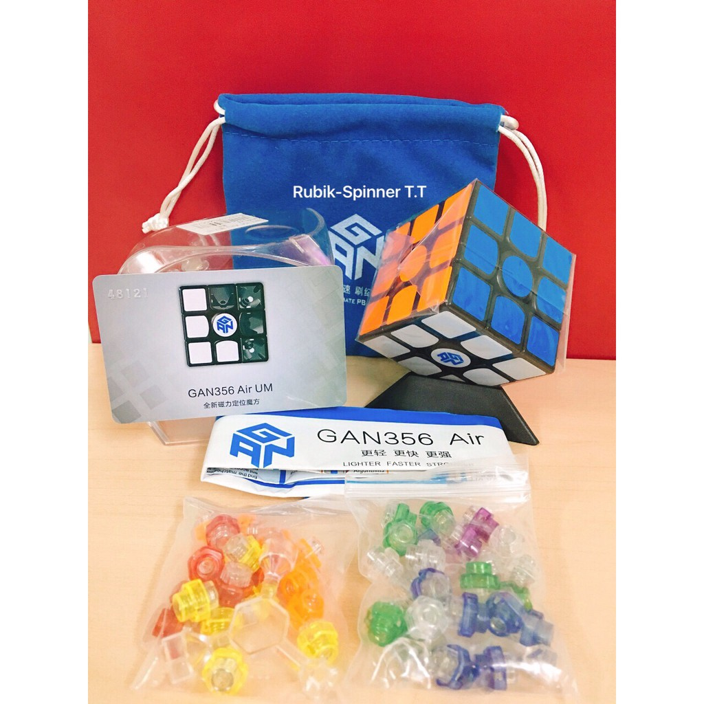 Rubik 3x3 - Gan 356 Air Ultimate Magnetic ( UM ) 3x3x3 - 3417685 , 799320212 , 322_799320212 , 730000 , Rubik-3x3-Gan-356-Air-Ultimate-Magnetic-UM-3x3x3-322_799320212 , shopee.vn , Rubik 3x3 - Gan 356 Air Ultimate Magnetic ( UM ) 3x3x3