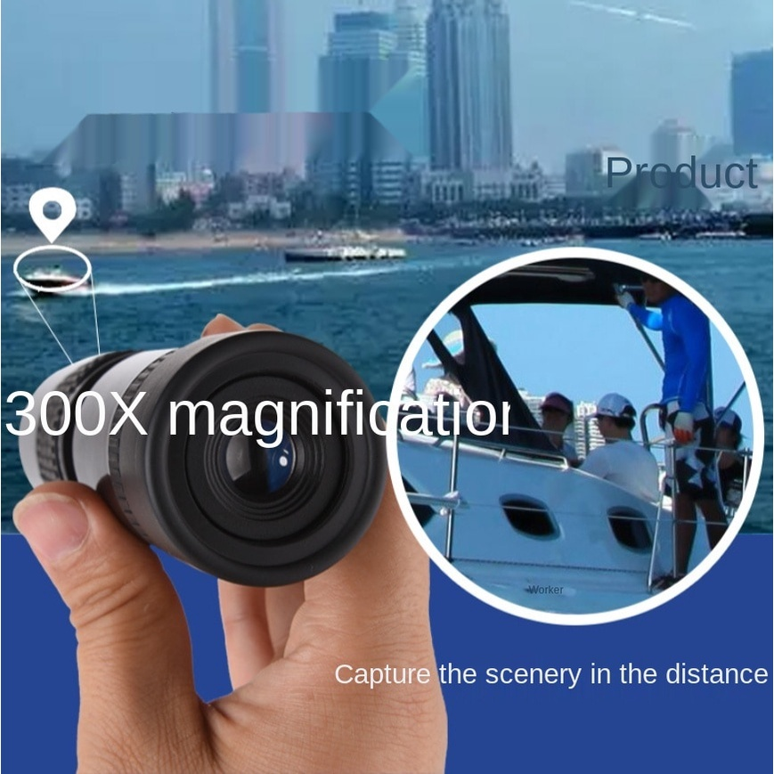 21x33 Monocular Telescope 30Times Super Clear Zoom Scaling Adult Outdoor Portable
