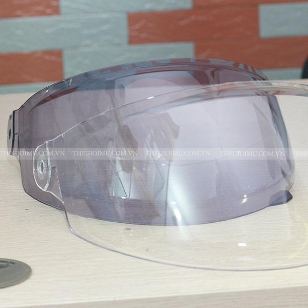 Kính mũ bảo hiểm INDEX 411 hàng Thái chuẩn - L