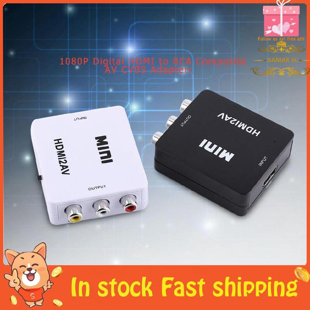Bộ chuyển đổi HDMI sang RCA AV CVBS thumbnail