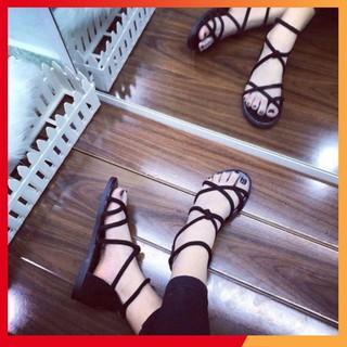 sandal nhiều dây xỏ ngón