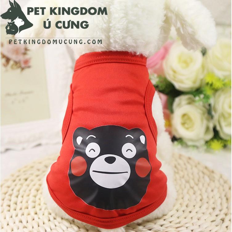 Áo cho chó mèo: áo ba lỗ hè gấu đen M1 - 2842534 , 1076482260 , 322_1076482260 , 30000 , Ao-cho-cho-meo-ao-ba-lo-he-gau-den-M1-322_1076482260 , shopee.vn , Áo cho chó mèo: áo ba lỗ hè gấu đen M1