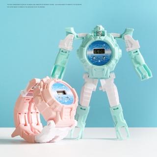 Đồng Hồ Đồ Chơi Transformers Độc Đáo Cho Bé