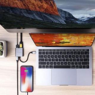 Cổng Chuyển Hyperdrive 3 in 1 HDMI 4K Usb-C Cho Macbook,PC,Devices Chính Hãng