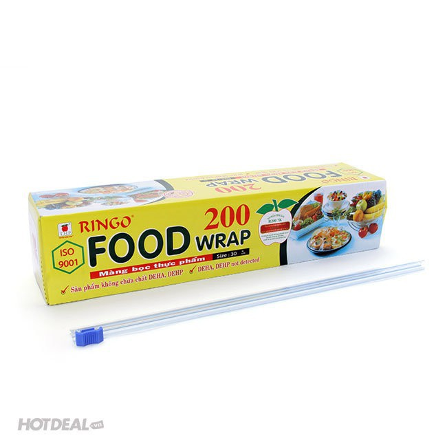 """Mã ''SRSHOCK16"""" giảm 40k- màng bọc thực phẩm ringo 200"""
