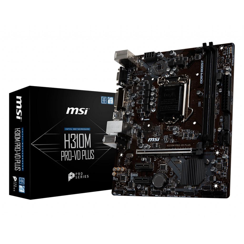 Mainboard MSI H310M Pro-VD Plus (Hàng chính hãng NEW 100%)
