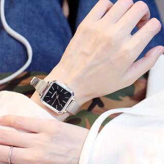 ( Giá SỈ )Đồng hồ thời trang nữ Candycat dây lưới mặt vuông T114