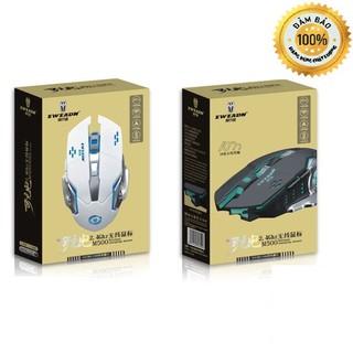 Chuột không dây chuyên game pin sạc M500 X1 Led 7 màu – CKD/M500/EWEADN