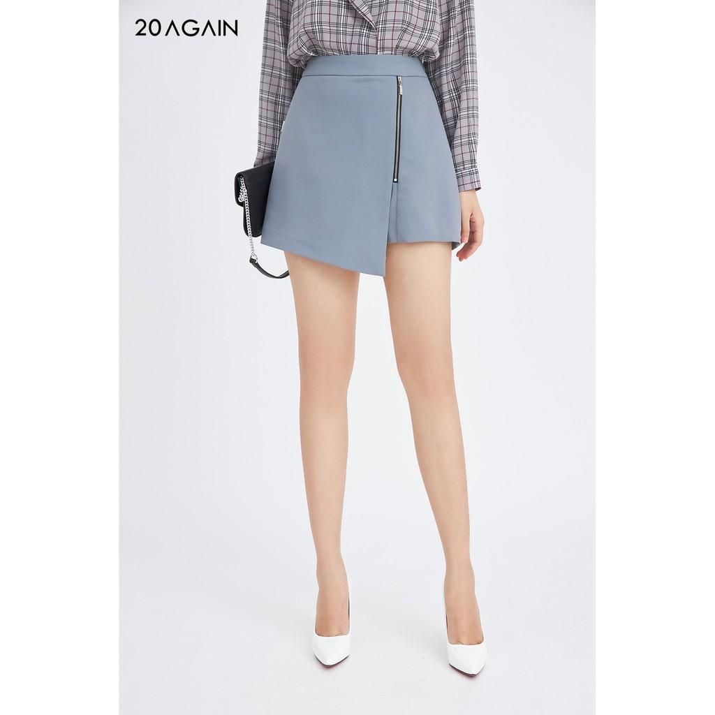 Chân váy A khóa sắt trang trí - 20 Again - JAA1105