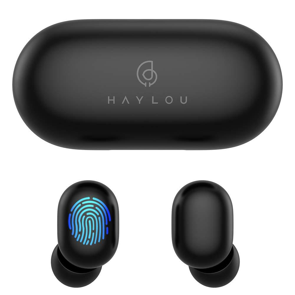 Tai nghe Haylou GT1 BT5.0 không dây màu đen và trắng 310mAh không hỗ trợ chơi game