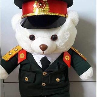 Gấu bông bộ đội 45cm