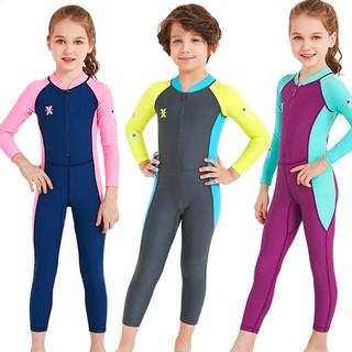 Đồ bơi cho bé dài tay cao cấp DIVE & SAIL chống nắng và tia UV cho bé trai bé gái từ 3 đến 11 tuổi BBShine – DB014