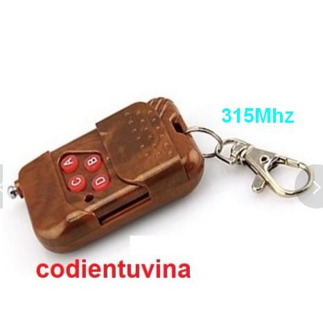 Remote 4 Kênh RF 315Mhz PT2262 và 433Mhz PT2262 kèm Module thu RF PT2272 M4, 50 –100m