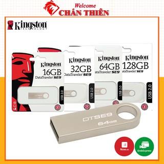 [Mã ELFLASH5 giảm 20K đơn 50K] USB Kingston 64GB 32GB 16GB 8GB Chống Nước - Tem FPT - Bảo Hành 12 Tháng