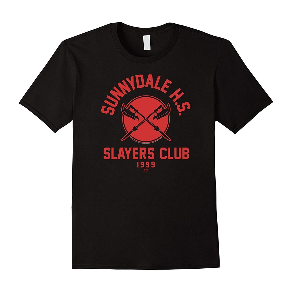 Men'S Buffy Slayers Club Funny T Shirt Father's Day Gift