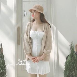 Áo cardigan len dày nữ (ảnh shop tự chụp)
