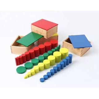 Bộ 4 hình trụ không có núm – Knobless cylinders