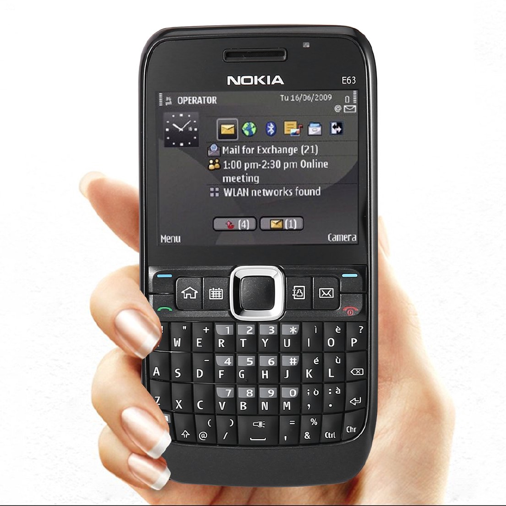 Refurbished for Nokia E63 full keyboard mobile phone 320X240
