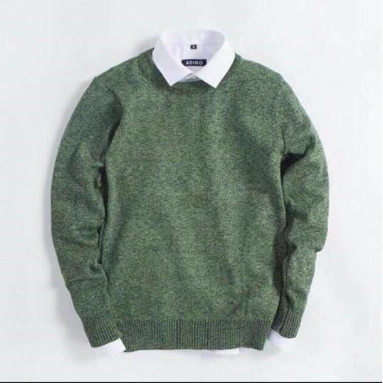 Áo len nam thời trang phong cách kèm ảnh thật